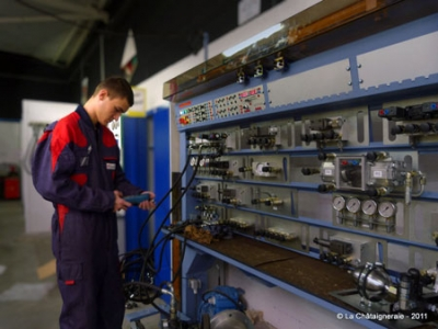 Bac pro Maintenance des Equipements Industriels